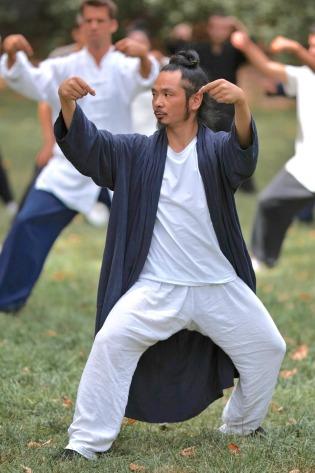Hüfte und Kantian im Tai Chi